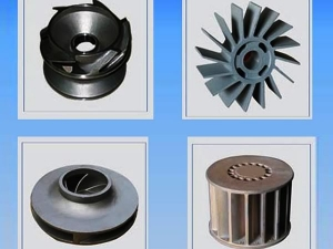 stainless steel casting / stainless steel impeller X sku 1