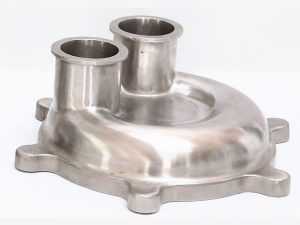 stainless steel casting / stainless steel pump cover